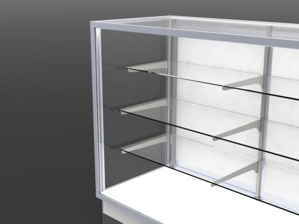 Full Vision Showcase Glass End Option