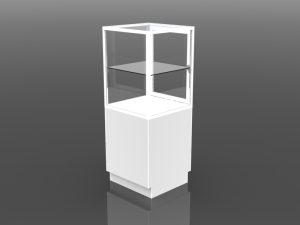 One Third Style Tower Display 54 inch high
