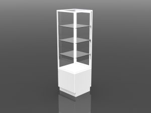 One Half Style Tower Display 72 inch high