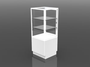 One Half Style Tower Display 54 inch high