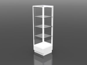 Two Third Style Tower Display 72 inch high