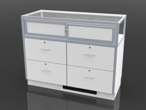 optional rear storage drawers