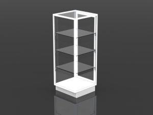 full style security tower 54 inch high - 21 inch square