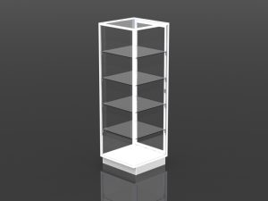 full style security tower 72 inch high - 24 inch square