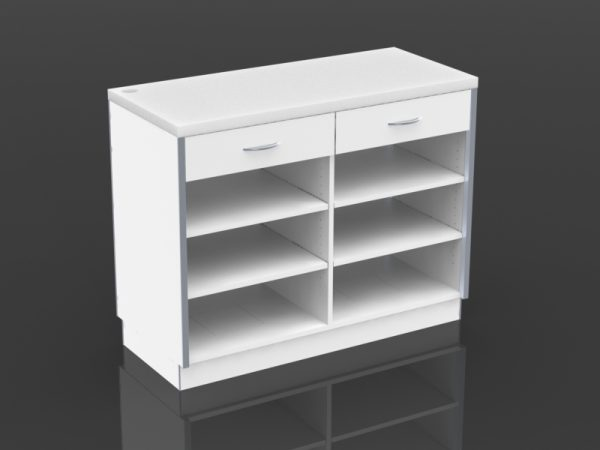 48 inch cash desk with drawers
